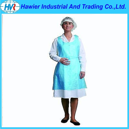 Plastic Disposable Widely Used PE Smock Apron