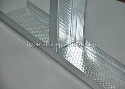 Wall Partition Material Metal Building Stud / Track Steel Profile