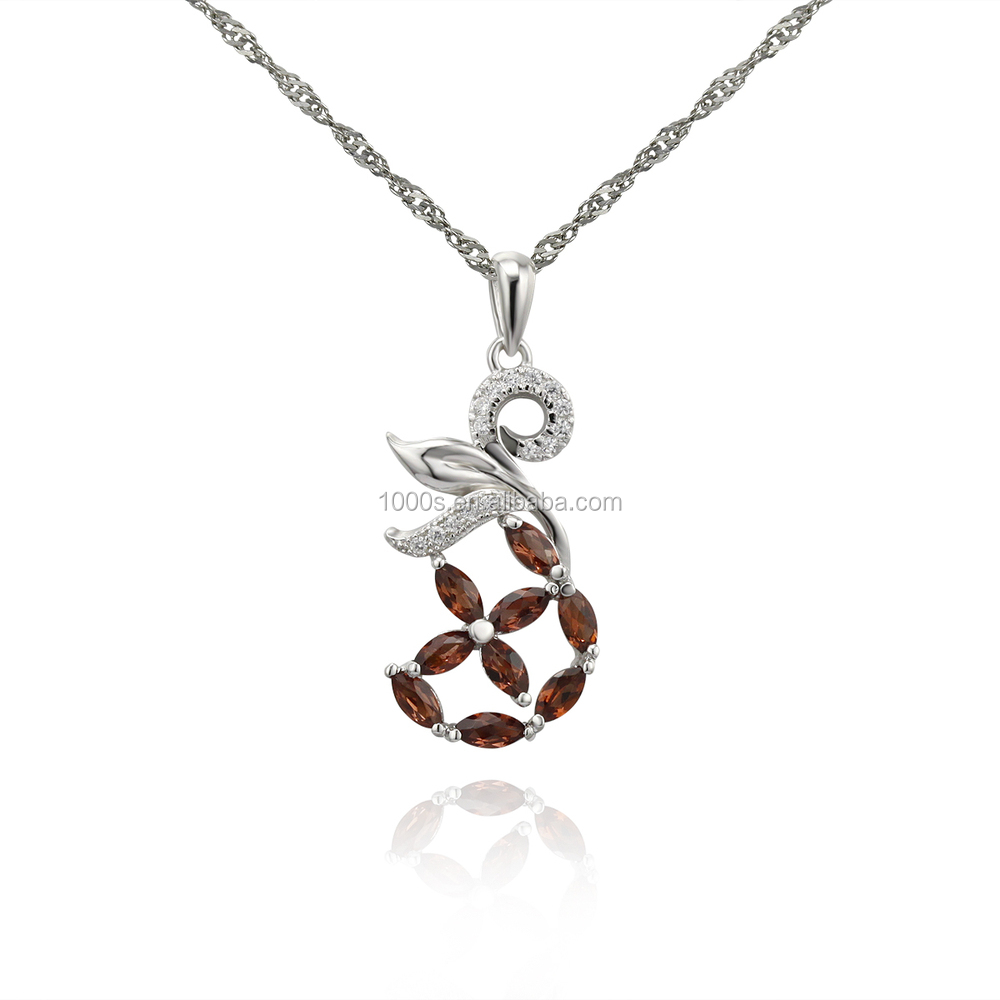 2014 925 sterling silver jewelry wholesale made with C elements only pendant