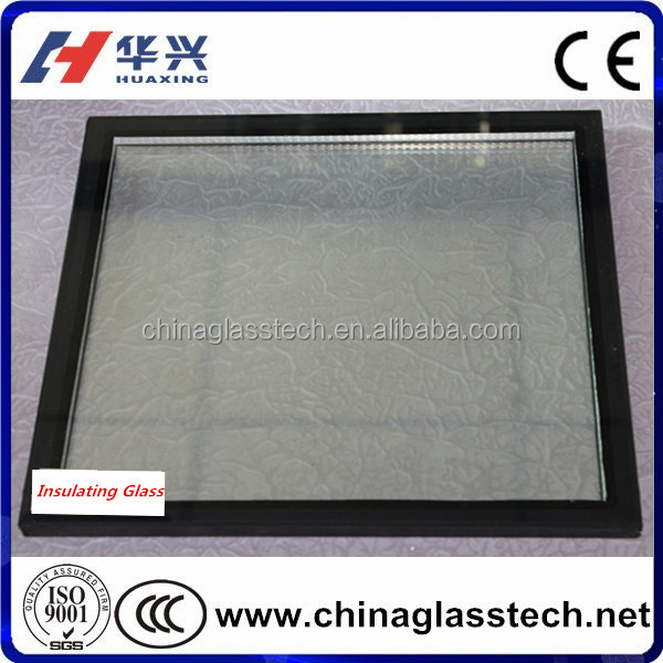 Single Silver Double Tempered Insulated Low E Glass Energy Saving Glass