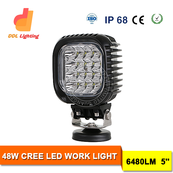 Accessories Square 48w 12v 24v USA Crees chips led driving work lights