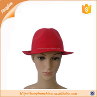Mens polyester fedora hats for sale