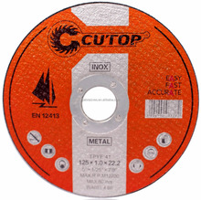 CUTOP Plus 5 inch 125x1.0x22.2 Cutting Disc Easy Cutting Cutting Wheel For Inox And Metal WITH CUSTOMER TEST VIDEO