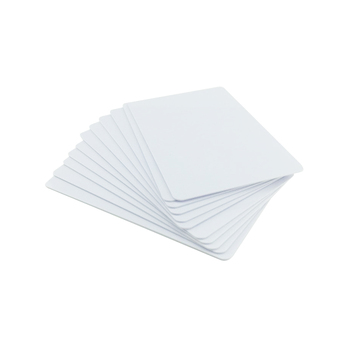 Low price and High quality different shape or CR80 printable blank pvc card