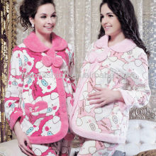 Fashion ladies sleeping wear and breastfeeding nursing clothes