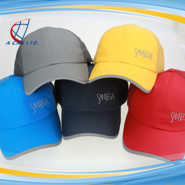 Wholesale 66g Weight Functional Dri Fit Perforated Running Sport Cap