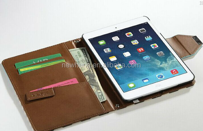 new luxury protective smart pu leather cover case for ipad mini 2