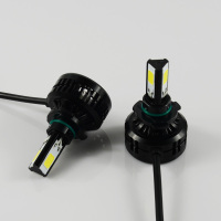 more bright 36W 3300lm 9005 car led headlight than xenon super vision hid conversion kit