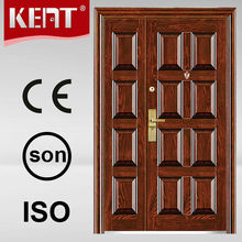 steel door exterior pocket doors with hings and locks for hot sale
