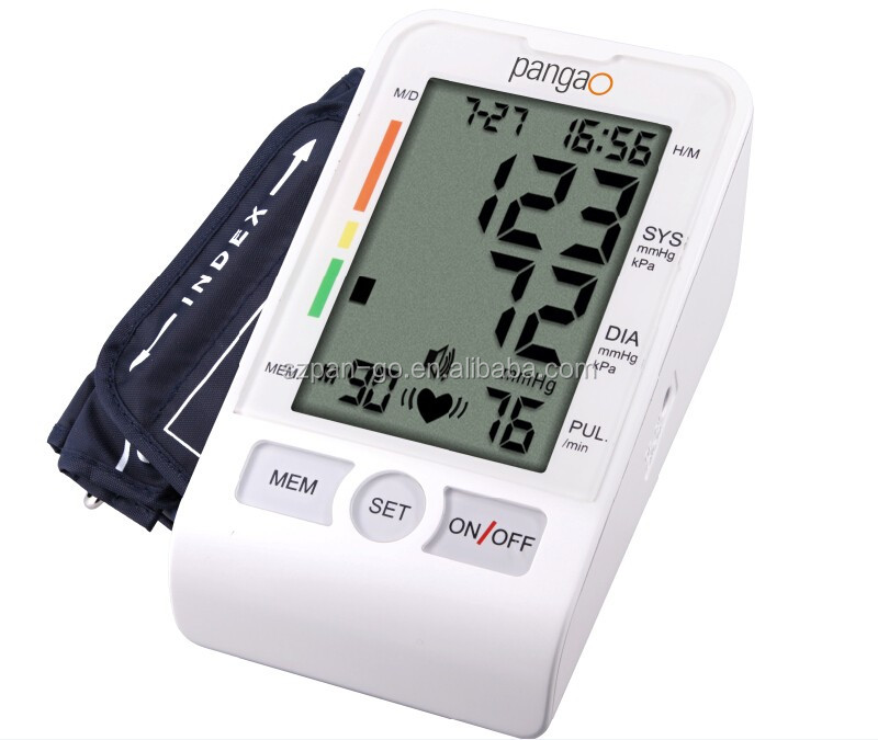 Pangao arm digital blood pressure monitor with CE FDA