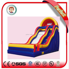 Guangzhou factory inflatable water slide clearance, commercial grade inflatable water slides