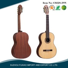 2016 china manufacturer fashion concert cheapest classical guitar