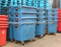 Outdoor Wheeled bin 660L