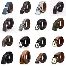 China Manufacturer Wholesale Custom Man Leather Belt With 2-3usd