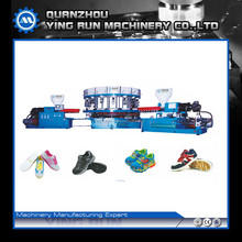 cheap price PVC shoe sole injection machine for making two color shoe