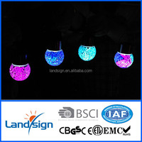 2015 Hot Sale decorative lighting High Quality solar outside lamp XLTD-210 Series mosaic glass ball