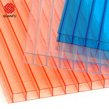 Cheap lexan Polycarbonate Hollow Sheet For Greenhouses