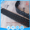 Custom made black rubber track for car belt