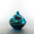 Ballerina home decor color flower vase wholesale small round blue glass vases