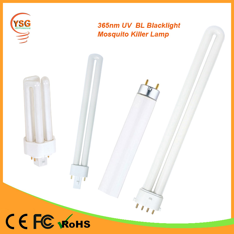 365nm UVA T5 T8 4W 6W 8W 10W 15W 20W 40W BL Blacklight Anti Mosquito Fluorescent Tube Lamp