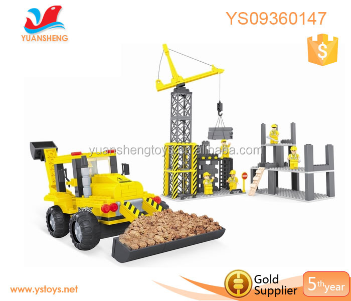 Construction assembly model toy plastic building blocks for Plastic building blocks home construction