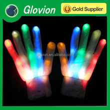 Custom light led gloves glovion cheap luminous gloves glow in the dark gloves