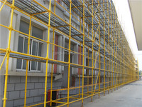 Wholesale Durable Construction Powder Painting Ringlock Scaffolding System