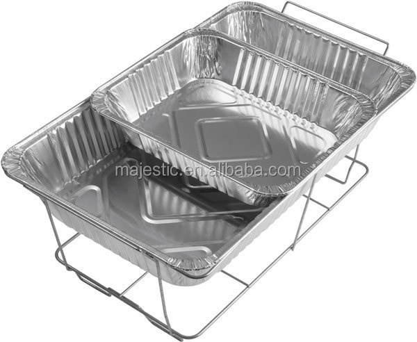 Full Size foil Pan Disposable Aluminum Foil Containers oblong