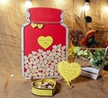 Wedding Guest Book Alternative with Heart Drop Guest Book with Guest Book Drop Box with Guest Book Sign with Guestbook Drop Box