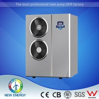 refrigerant r410a 15kw 20kw evi heat pump induction home heating