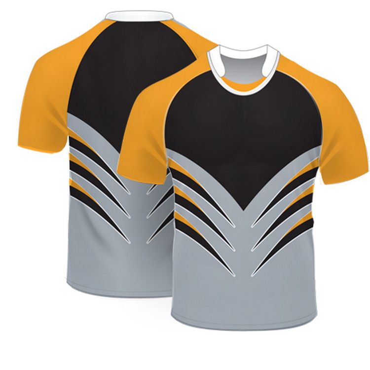 OEM/OEM custom team set cheap dry fit rugby jersey with number and Logo