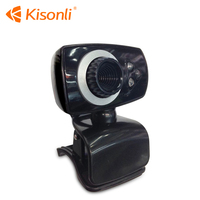 Hottest usb Webcam 300k Pixel pc Camera Driver With Lights+MICROPHONE