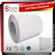 Writing board PPGI Painting white board steel coils for school board