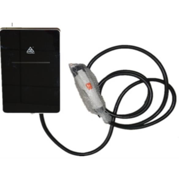 Wall mounted AC charging pile for electronic vehicle and EV charge station