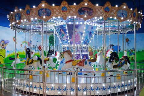2016 Hot Sale High Quality Amusement Park Games Lego Grand Used Carousel for Sale