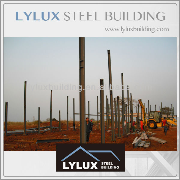 3 start hotel construction steel frame erection steel prefab building
