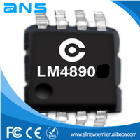 electronic components and supplies LM4890 Ultra low-cost supply 1 w audio power amplifier XPT4890power amplifier IC