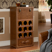 X022 wine cabinet antique wine cabinet wine display cabinet