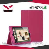 for Ipad Mini 2 Leather Smart Case, Crystal PC Hard Back Cover