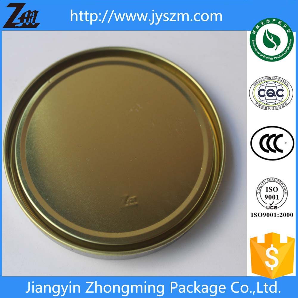tin/tinplate metal lid for tin/tinplate pail/bucket/can/barrel