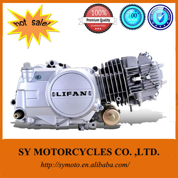 electric start automatic clutch lifan 125cc engine
