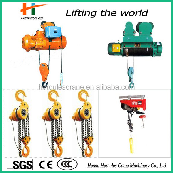 Manufacturer PA Type Protable 500kg Wire Rope Mini Electric Hoist,new products on china market