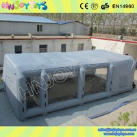 Outdoor inflatable portable paint booths used car spray booth for sale