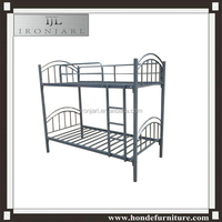 School Furniture dormitory Metal Bunk Beds for sale/used cheap metal frame bunk beds for sale