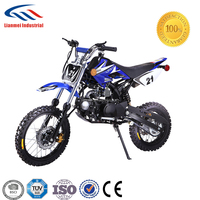 125cc basic model dirt bike with easy electrical starter with max.speed:60km/h