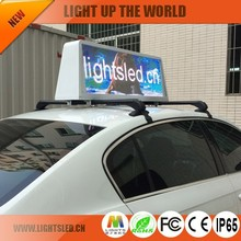 LightS Alibaba express hot product in 2015 led taxi roof sign