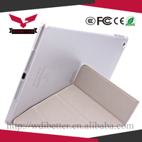 Ultra Thin Foldable Flip Stand Smart Cover Clear Back Case For ipad mini 4