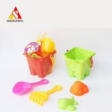 Outdoor beach bucket toy for kid sand shovel toy