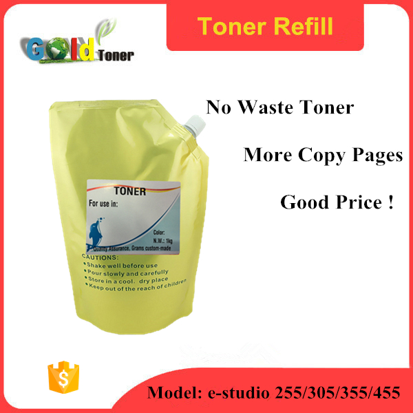 Copier toner powder for use in e-studio 205L 255 305S 305 355 455 for toshiba