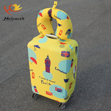 Holywish hot wholesale spandex luggage covers and travel bag cover